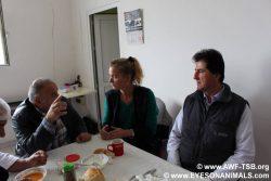 Meeting at Baskent slaughterhouse